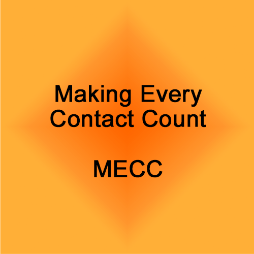 making every contact count
