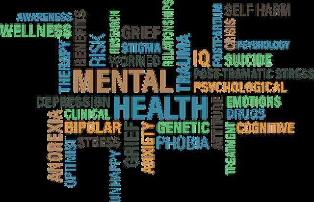 common mental health symptoms